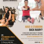 Adult 6 week core strengthening class