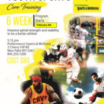 Youth Sports Core Training 6 Week Program Starting February 8th, 2018