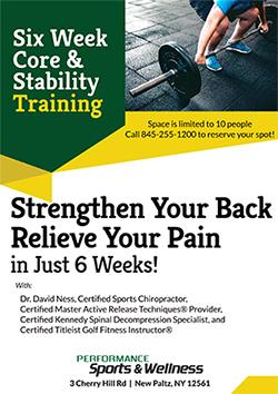 Six Week Core & Stability Training